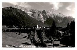 Obsteig, Tirol Mit Miemingerkette (9806) * 13. 8. 1958 - Österreich