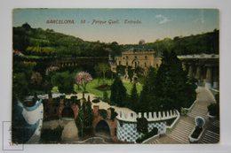 Postcard Spain - Barcelona - Park Güell Entrance - Antoni Gaudi - Jorge Venini - Barcelona