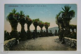 Postcard Spain - Barcelona - Park Güell Top Bridge - Pont De Dalt - Antoni Gaudi - Jorge Venini - Barcelona