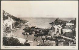 The Harbour, Polperro, Cornwall, C.1950s - Photochrom RP Postcard - England