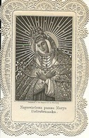 Canivet Image Pieuse  Nayswietsza Panna Marya Osttrobramska Poland  Edit;  Karl Mayer Nurnberg - Images Religieuses