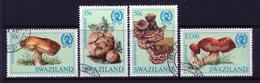 Swaziland 1984 Fungi Set Used (SG 462-465) - Swaziland (1968-...)