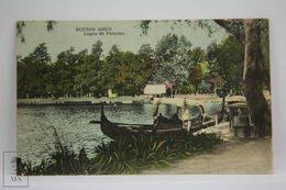 Postcard Argentina - Buenos Aires, Lagos De Palermo - Lakes - Unknown Publisher - Argentina