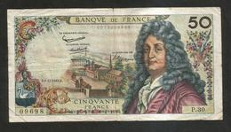 FRANCE - BANQUE De FRANCE - 50 Francs RACINE  (B.6 - 12 - 1962 ) - 50 F 1962-1976 ''Racine''