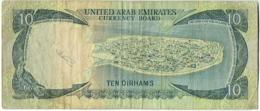 Billet.United Arab Emirates. 10/Ten Dirhams. - Emirats Arabes Unis