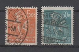 Deutsches Reich , Nr 238 + 245 Geprüft , Nr 245 Etwas Zahnweh - Germany
