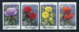 Swaziland 1987 Garden Flowers Set Used (SG 533-536) - Swaziland (1968-...)