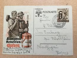 A940 Deutsches Reich Ganzsache Stationery Entier Postal P 291a Von Ordensburg Krössinsee über Falkenburg Pommern Polen - Allemagne