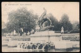 BRUXELLES  SQUARE AMBIORIX - Forêts, Parcs, Jardins