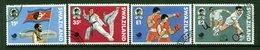 Swaziland 1988 Olympic Games, Seoul Set Used (SG 545-548) - Swaziland (1968-...)