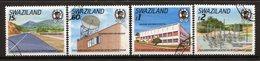 Swaziland 1989 25th Anniversary Of African Development Bank Set MNH (SG 561-564) - Swaziland (1968-...)