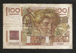 FRANCE - BANQUE De FRANCE - 100 Francs  Jeune Paysan  ( E.15 - 4 - 1948 ) - 1871-1952 Antichi Franchi Circolanti Nel XX Secolo