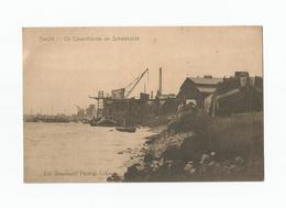 Burcht  -  De Cimentfabriek En Scheldezicht. - Zwijndrecht