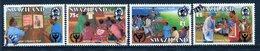 Swaziland 1990 International Literacy Year Set Used (SG 572-575) - Swaziland (1968-...)