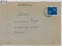 1952 Nachrichtenwesen 312/569 Tübach 15.II.52 To Hindelang - Covers & Documents