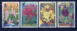 Swaziland 1991 Indigenous Flowers Set Used (SG 594-597) - Swaziland (1968-...)