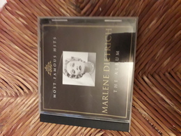 Cd  Most Famous Hits Marlene Dietrich The Album - Music & Instruments
