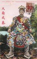 ANNAM-HUÉ-EMPEREUR-COSTUME- 1913- - Vietnam