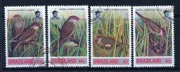 Swaziland 1993 Common Waxbill Set Used (SG 630-633) - Swaziland (1968-...)