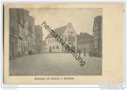 Nidderau - Windecken - Marktplatz - Rathaus - Nidderau