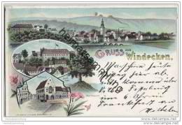 Nidderau - Windecken - Lithographie - Nidderau