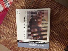 Cd 1 Cd + Livret Pergolesi Stabat Mater Sebastian Hennig Rene Jacob Concerto Vocale - Klassik