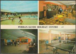 Perran-Sands Holiday Centre, Perranporth, Cornwall, 1969 - Harvey Barton Postcard - England