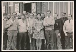 EKSAARDE     FOTO 12 X 9 CM     KONINGSCHIETING  - WIPMAATSCHAPPIJ  ;; IJVER EN EENDRACHT ,, 1973 - Tir à L'Arc