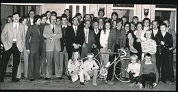 IZEGEM  BERT DELAGRANGE   FOTO 15 X 7 CM     1973 - Cyclisme