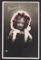 CPA Enfant Fillette Au Capuchon Et Manchon De Fourrure - Pretty Girl - Photo - Portraits