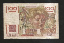 FRANCE - BANQUE De FRANCE - 100 Francs  Jeune Paysan  ( L.31 - 10 - 1946 ) - 1871-1952 Antichi Franchi Circolanti Nel XX Secolo