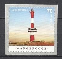 Deutschland / Germany / Allemagne 2018 3396 ** Leuchtturm Wangerooge Selbstklebend (07.06.18) - BRD