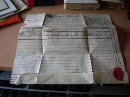 Telegram Tavirat Brzojavka  Pancsova  Pancevo - Télégraphes