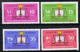 81527 Yemen - Republic 1971 New Constitution Perf Set Of 4 Unmounted Mint, SG 68-71 (constitutions) - Yemen