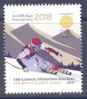 2018. Georgia, Winter Olympic Games Pyeong Chang 2018, 1v, Mint/** - Géorgie