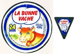 Top Box - Etiquettes Fromage - Cheese Label - LA BONNE VACHE - Quesos