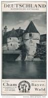 Cham 30er Jahre - Faltblatt Mit 8 Abbildungen - Reiseprospekte