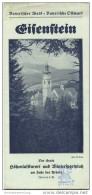 Eisenstein Am Fusse Des Arbers 1935 - Faltblatt Mit 7 Abbildungen - Reiseprospekte