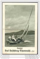 Tschechien - Doksy - Bad Hirschberg Thammühl Am See 1932 - Faltblatt Mit 6 Abbildungen - Tschechien