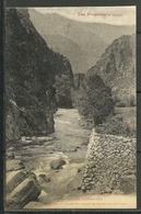 ANDORRA- 1050 LES PYRÉNÉES (3ª SERIE) POSTAL (P.47) (C.08.18) - Andorra