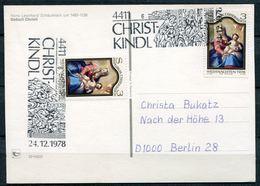"""Österreich/Austria 1978 Christkindl Sonderkarte Mit Mi.Nr.1591 Und SST""""4411/6 CHRISTKINDL""""1 Karte - Christentum"""