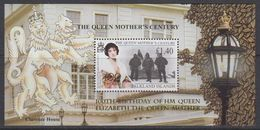 Falkland Islands 1999 Queen Mother's Century M/s Ovptd ** Mnh (40263) - Falklandeilanden