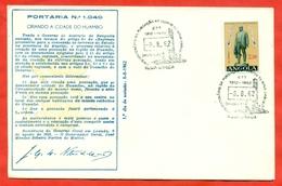 Angola 1962. 50th Anniversary Of The New Lisbon. FDC. - Angola