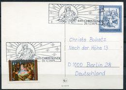 """Österreich/Austria 1979 Christkindl Sonderkarte Mit Mi.Nr.1630 Und SST""""4411/8 CHRISTKINDL""""1 Karte - Christentum"""