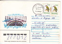 1997 , MOLDOVA , MOLDAVIE ,  MOLDAWIEN ,  MOLDAU , Birds , Postal History , Used Cover - Moldova