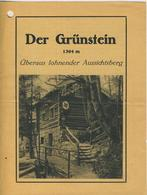 Bei Berchtesgaden V. 1934 Der Grünstein Mit Hütte (53981-071) - Nordhorn