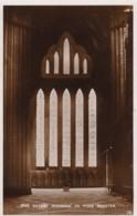 AQ69 Five Sisters Window In York Minster - RPPC - York