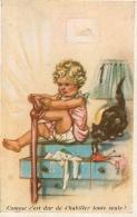 GERMAINE BOURET EDITION SUPERLUXE N°8 COMME C'EST DUR DE  S'HABILLER TOUTE SEULE - Bouret, Germaine
