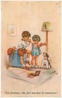 GERMAINE BOURET EDITION SUPERLUXE N°9 LES FEMMES CELA FAIT MARCHER LE COMMERCE - Bouret, Germaine