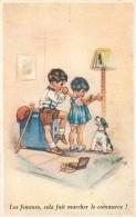 GERMAINE BOURET EDITION SUPERLUXE N°6  LES FEMMES CELA FAIT MARCHER LE COMMERCE - Bouret, Germaine